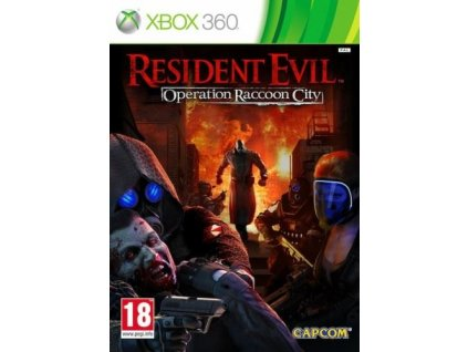resident evil operation raccoon city x360