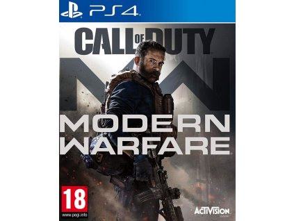 PS4 Call of Duty Modern Warfare Nové