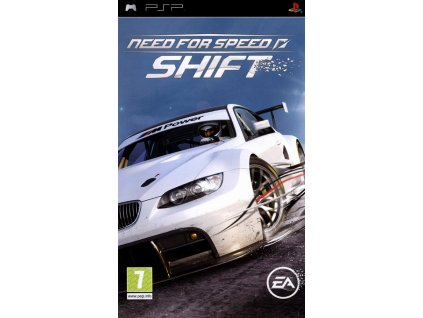 PSP Need for Speed Shift CZ