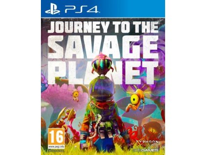 PS4 Journey to the Savage Planet