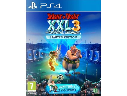 PS4 Asterix and Obelix XXL 3 The Crystal Menhir Limited Edition