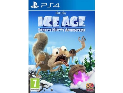 PS4 Ice Age Scrats Nutty Adventure