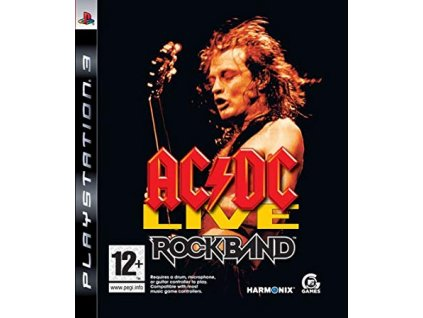PS3 AC/DC Live Rock Band