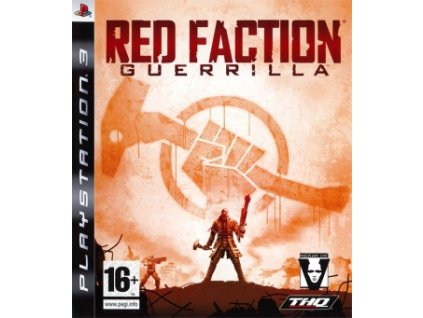 jaquette red faction guerrilla playstation 3 ps3 cover avant g