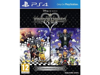 PS4 Kingdom Hearts HD 1.5 and 2.5 Remix