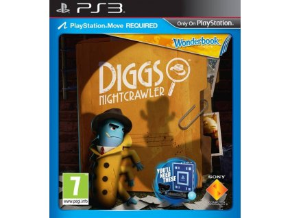 PS3 Wonderbook Diggs Nightcrawler CZ