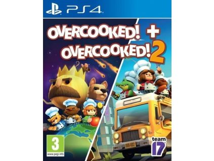 PS4 Overcooked + Overcooked 2
