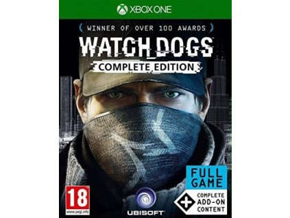 XONE Watch Dogs Complete Edition