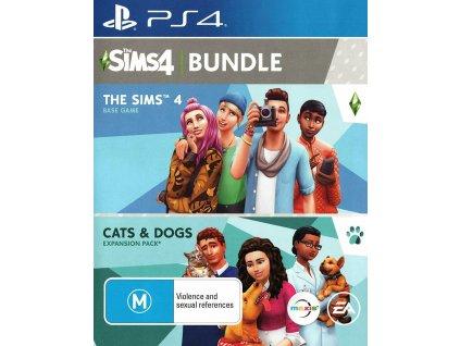 PS4 The Sims 4 + The Sims 4 Psi a kočky