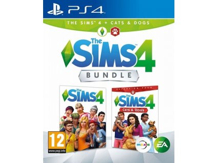 PS4 The Sims 4 + The Sims 4 Psi a kočky