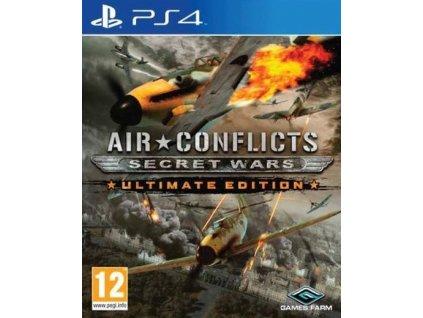 PS4 Air Conflicts Secret Wars Ultimate Edition
