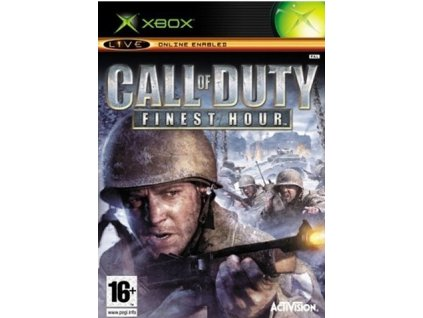 call of duty finest hour xbox