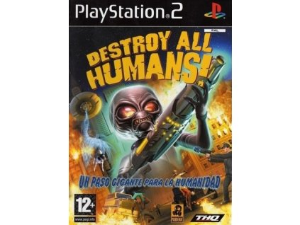 PS2 Destroy All Humans