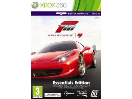 X360 Forza Motorsport 4 Essentials edition CZ