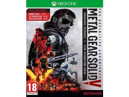 XONE Metal Gear Solid V The Definitive Experience Nové