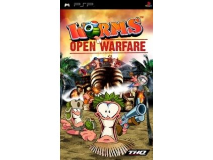 PSP Worms Open Warfare