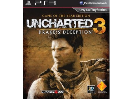 PS3 Uncharted 3 Drakes Deception GOTY