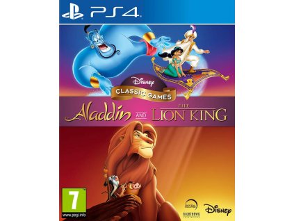 PS4 Disney Classics Games Aladdin and The Lion King