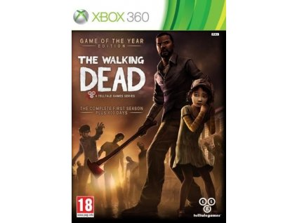 the walking dead a telltale games series game of the year edition x360 pouzite
