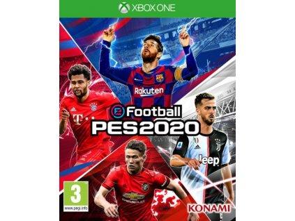XONE Pro Evolution Soccer 2020 Nové