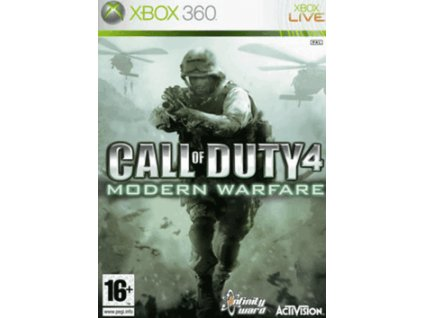 X360 Call of Duty 4 Modern Warfare