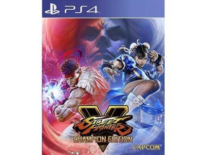 PS4 Street Fighter V Champion Edition