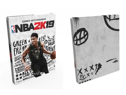 XONE NBA 2K19 Steelbook Edition Nové