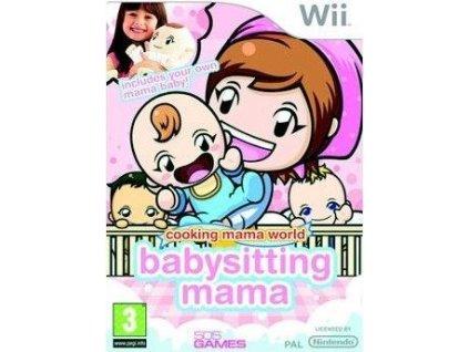 Wii Cooking Mama World Babysitting Mama