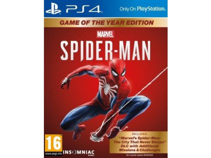 PS4 Spider-Man Game of The Year Edition CZ