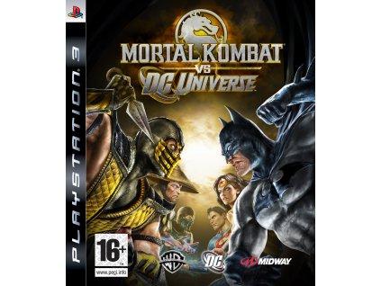 PS3 Mortal Kombat vs DC Universe
