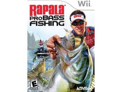 nintendo wii rapala pro bass fishing