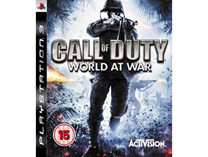 PS3 Call of Duty World At War