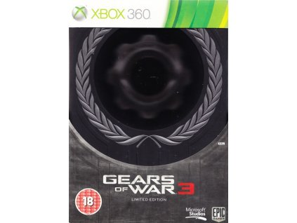 X360 Gears of War 3 Limited Edition