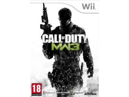 Wii Call of Duty Modern Warfare 3