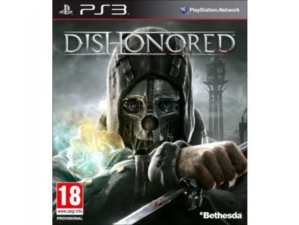 dishonored ps3 pouzite
