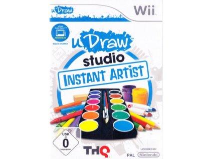 nintendo wii udraw studio instant artist