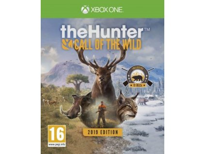 thehunter call of the wild 2019 edition xone