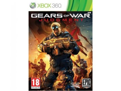 X360 Gears of War Judgment CZ
