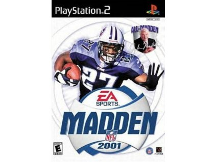 PS2 Madden NFL 2001