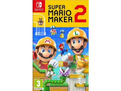 nintendo super mario maker 2 nintendo switch