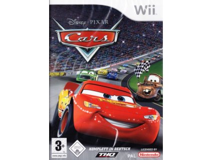 Wii Disney Cars