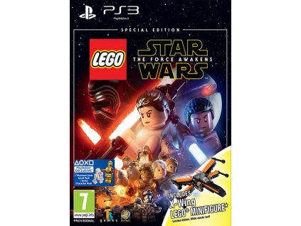 PS3 Lego Star Wars The Force Awakens Special Edition Nové
