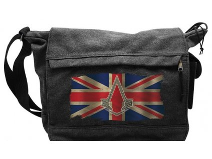 assassin s creed messenger bag union jack used big size