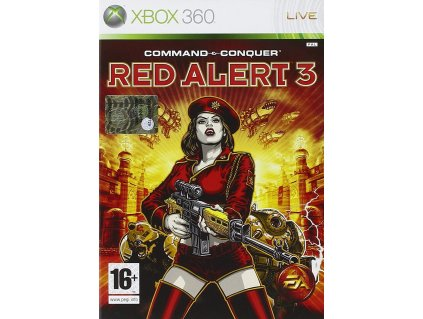X360 Command and Conquer Red Alert 3