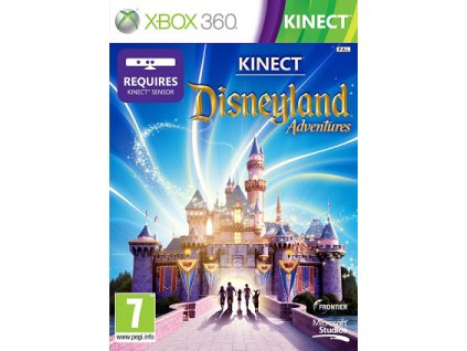 X360 KINECT Disneyland Adventures