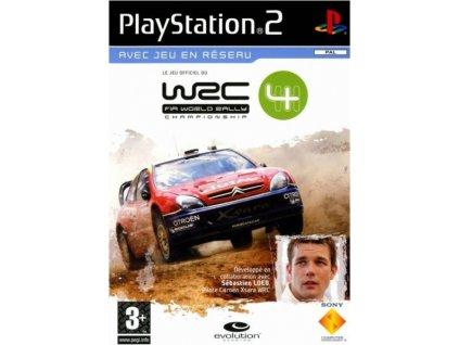 ps2 wrc fia world rally championship 4