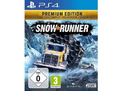 PS4 SnowRunner Premium Edition CZ