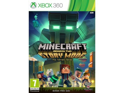 X360 Minecraft Story Mode Season Two