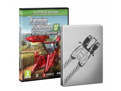 PC Farming Simulator 17 Platinová Edice Steelbook