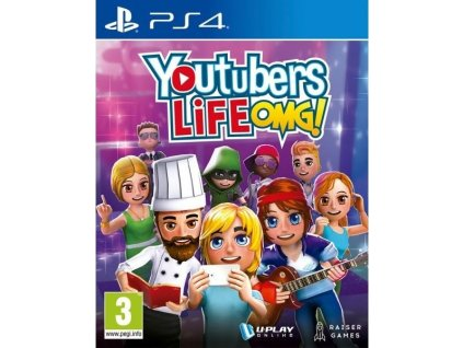 PS4 Youtubers Life OMG